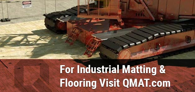 For Industrial Matting & Flooring Visit QMAT.com